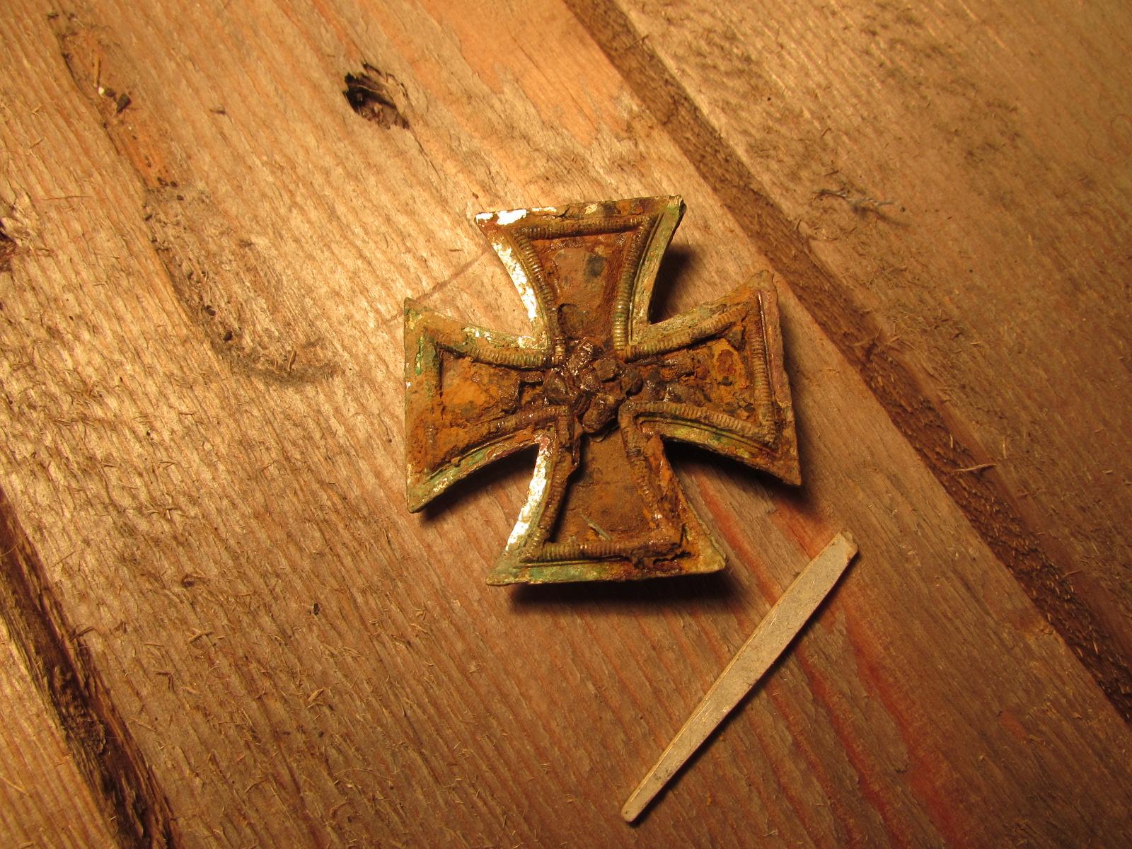 German 1st class Iron cross (Relic)