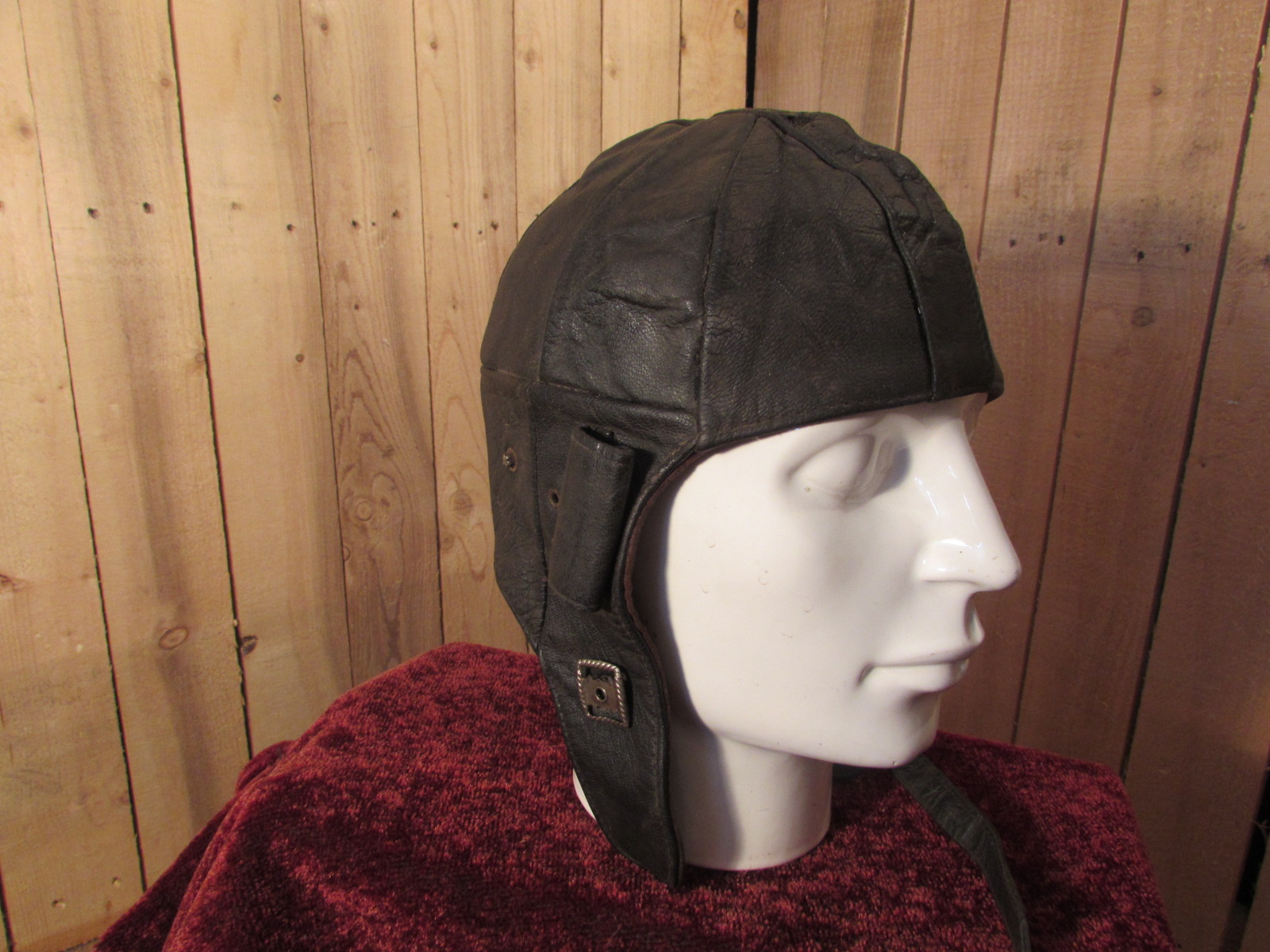 Early German Issue Flying Helmet 1