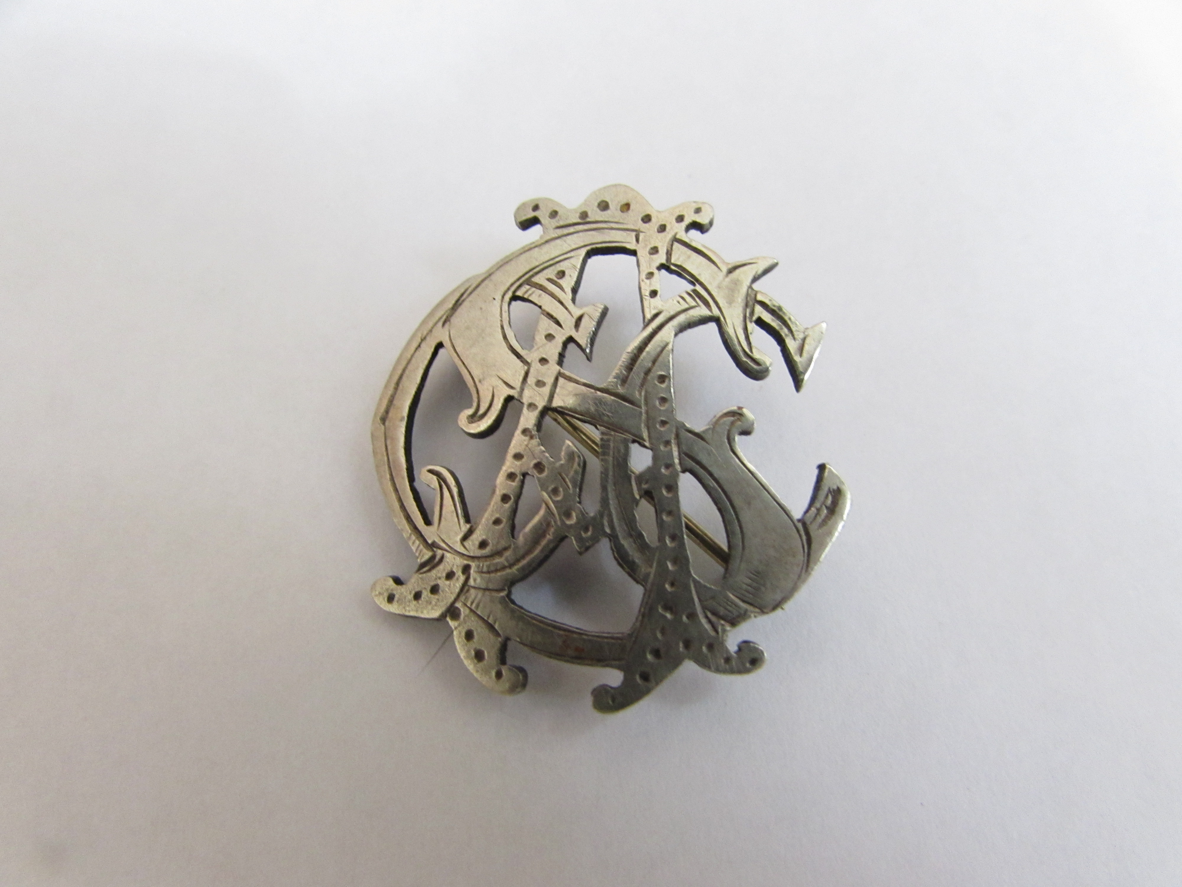 Canadian Army service corp silver brooch