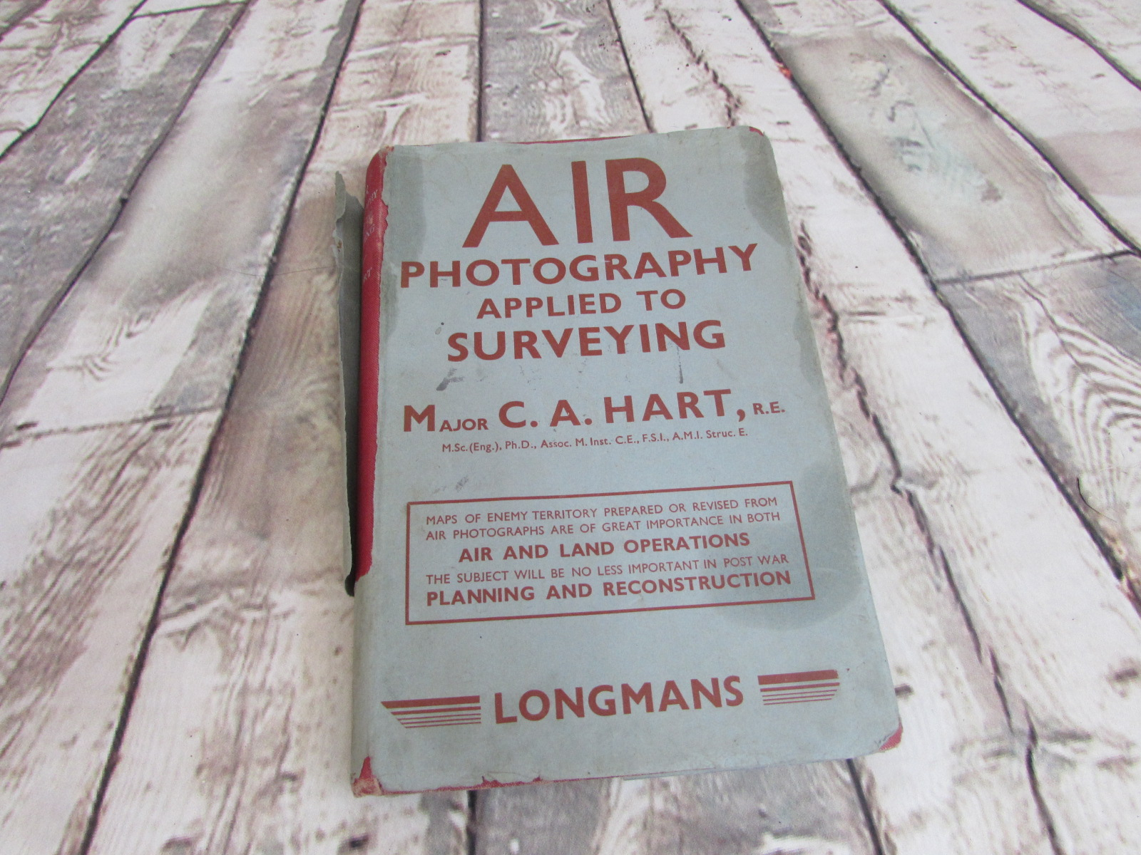 1943 Air photography book