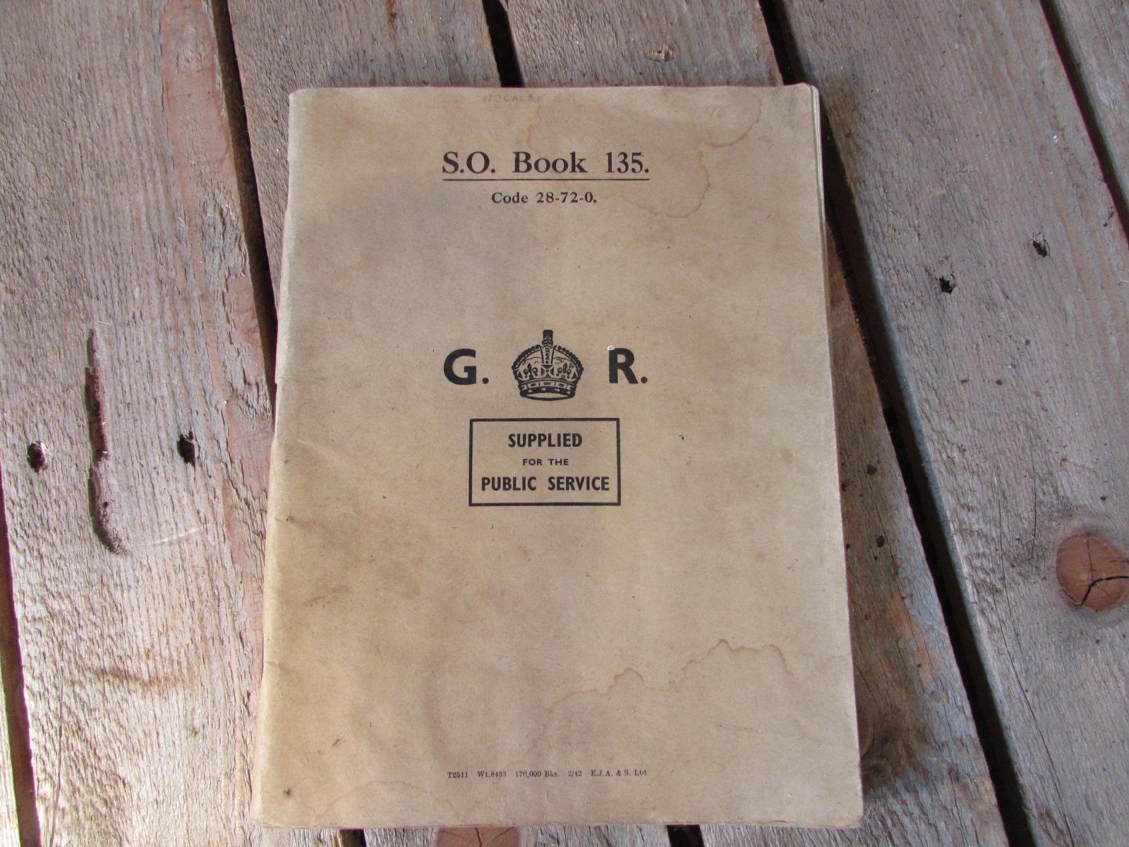 S.O. book for E.P. Hockley WW2 information