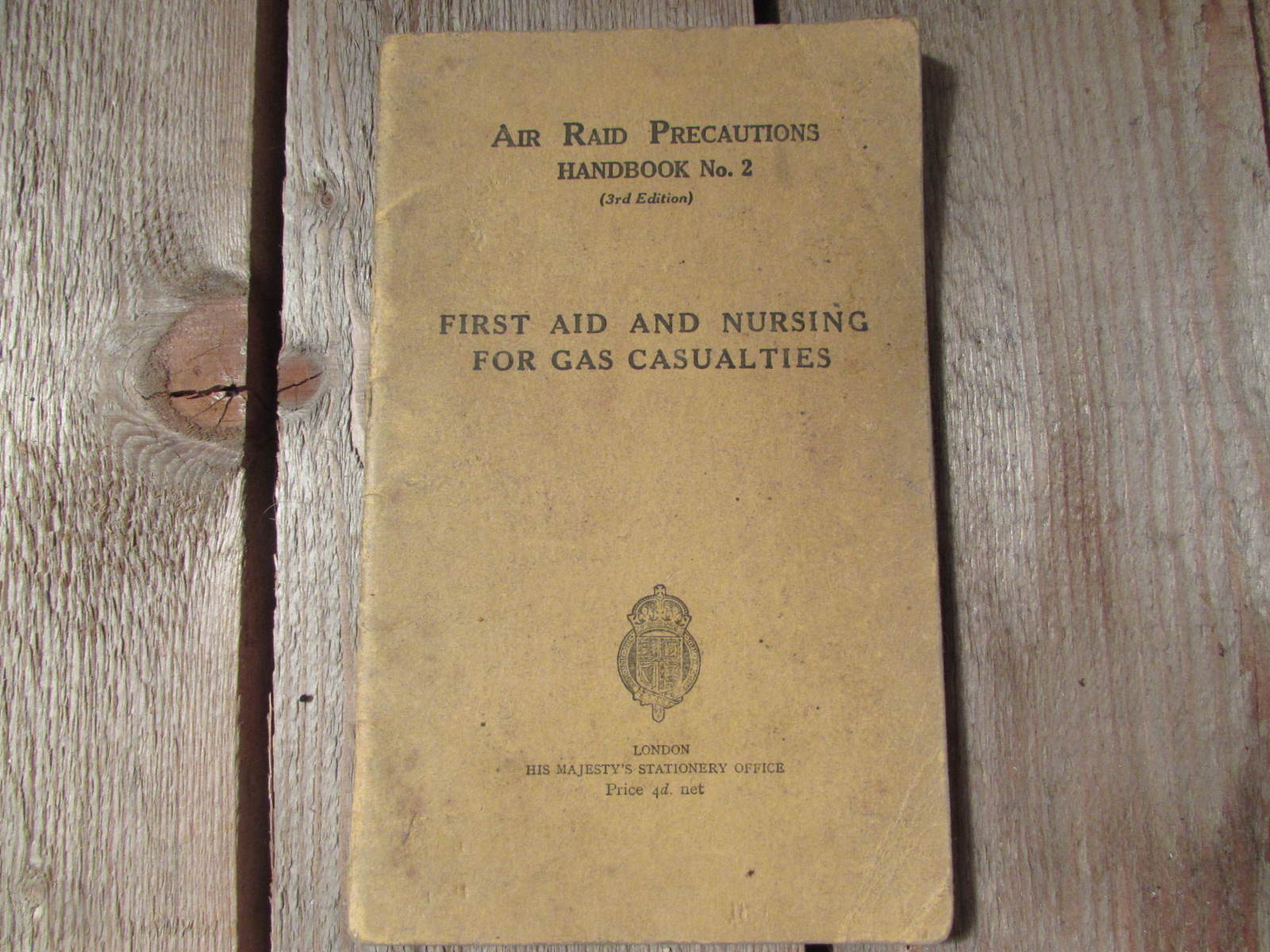 Air raid precautions handbook No2