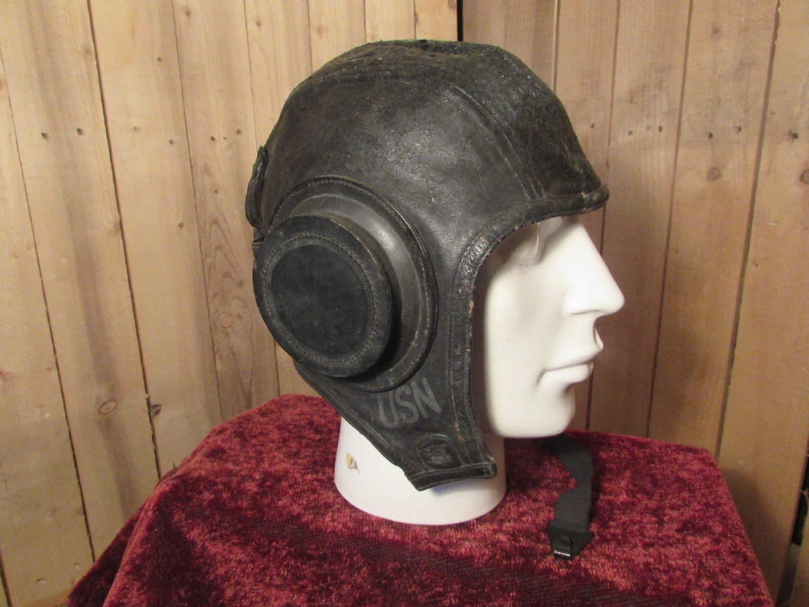 Rare U.S. Naval Flying Helmet
