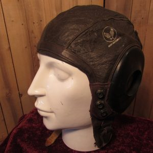 U.S A.A.F Type A11 spec 3189, small Leather Flying Helmet