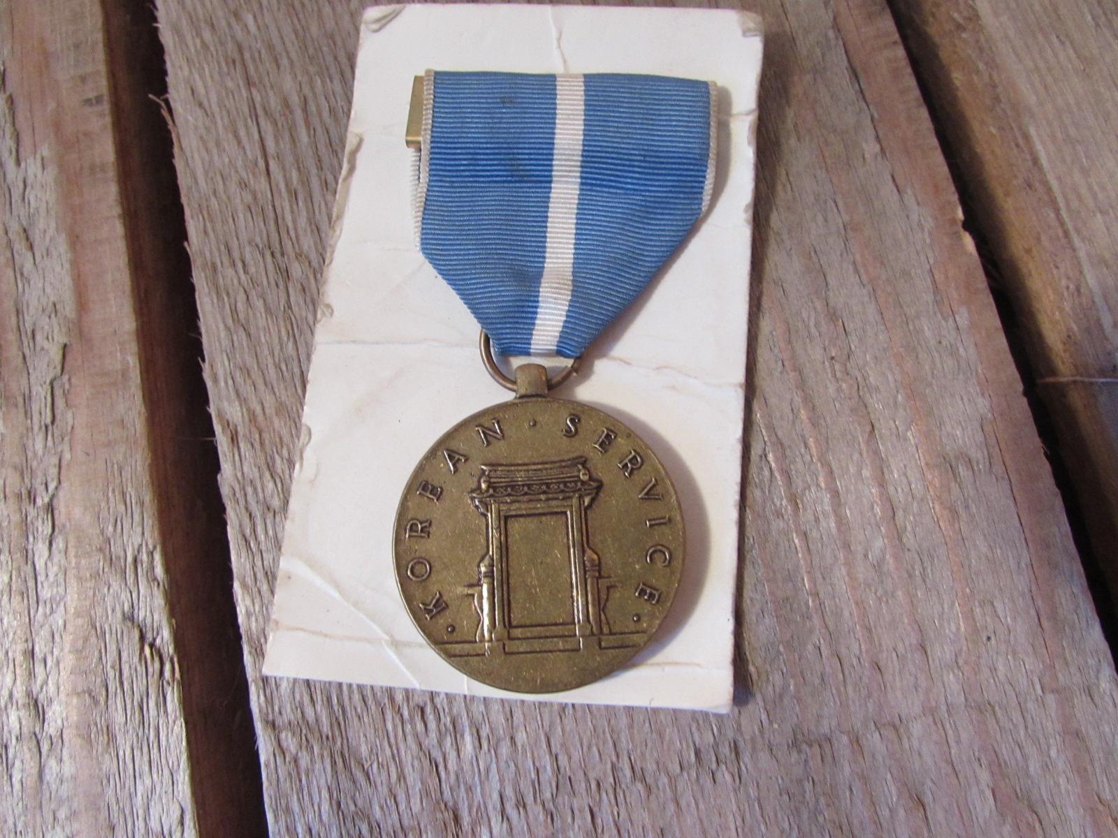Korean service medal U.S.A.