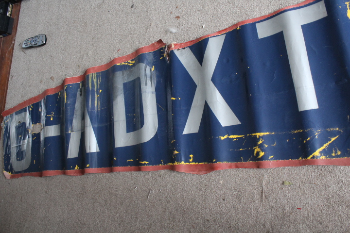 Large piece of Fuselage canvas from Tiger moth G-ADXT, REDUCED 1