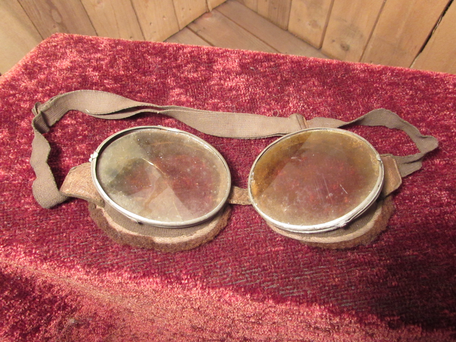 Rare Pair of RFC Flying Goggles
