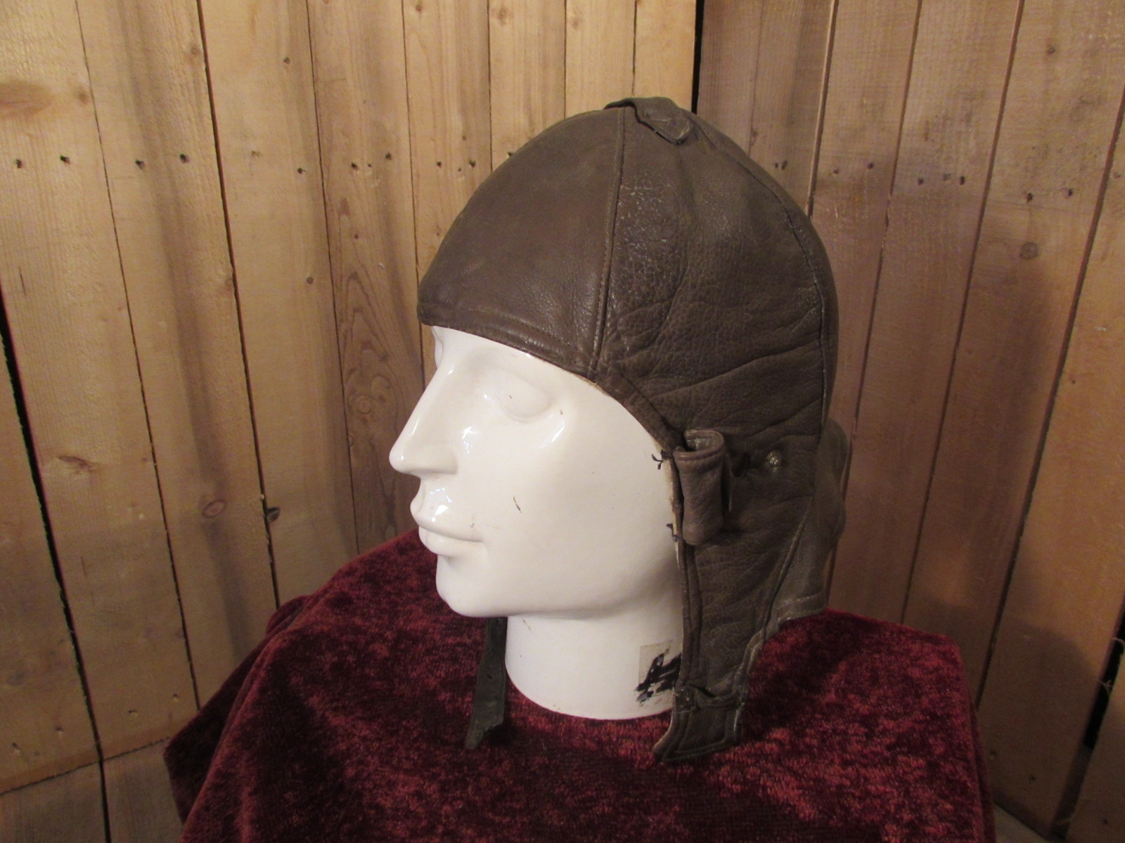 R.F.C Leather Flying Helmet