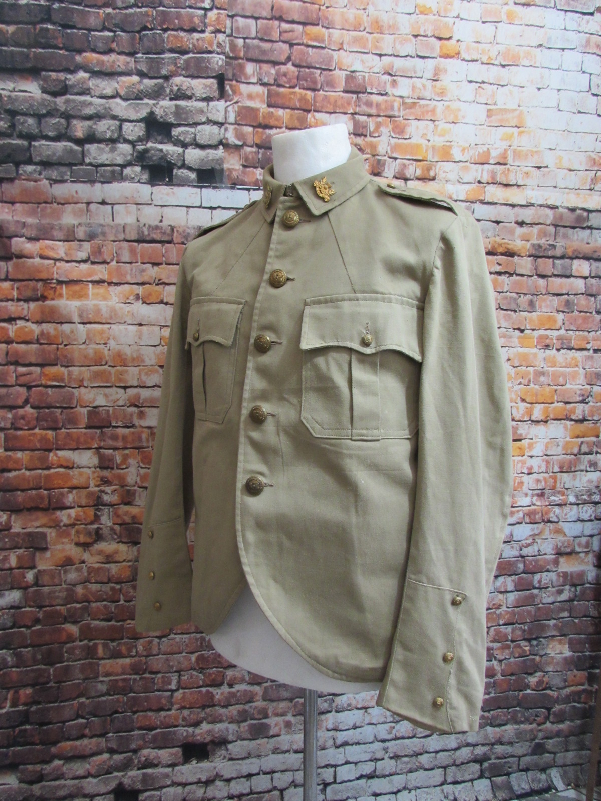 Transvaal Scottish khaki drill doublet