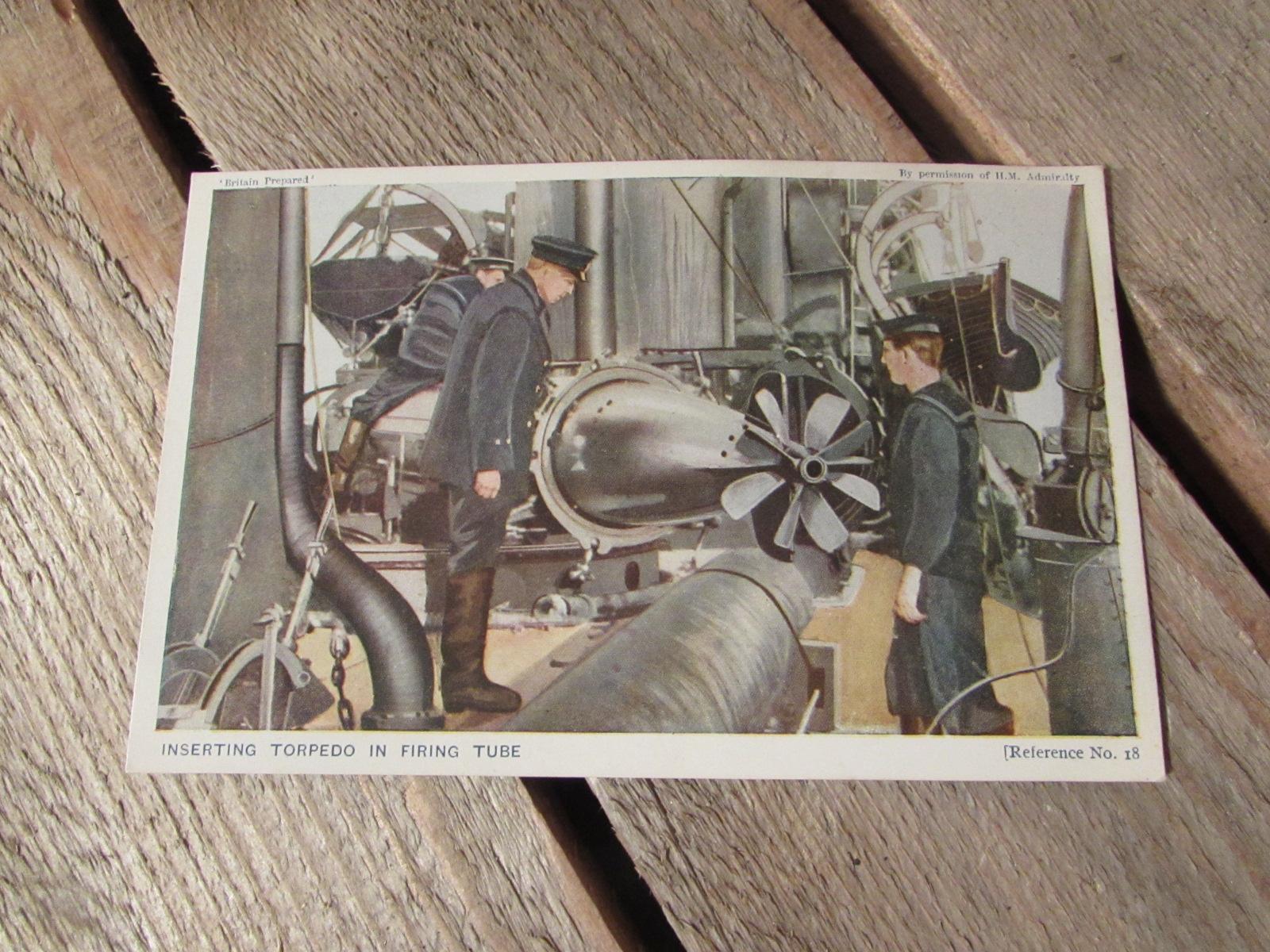 WWI Original postcard (colourised) R.N