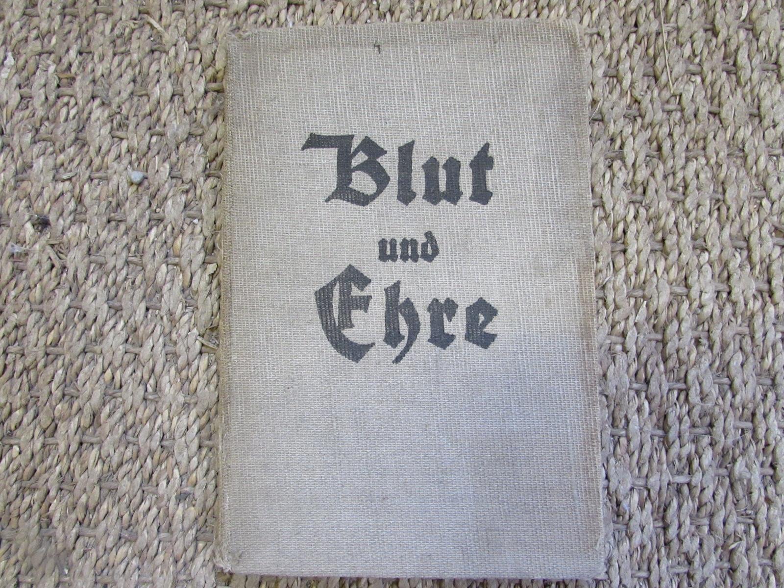 1933 Blood and honour songbook (German)