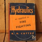 1941 Hydraulics for fire fighting book 1