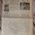 8th army news sheet dated May 11th 1945 1