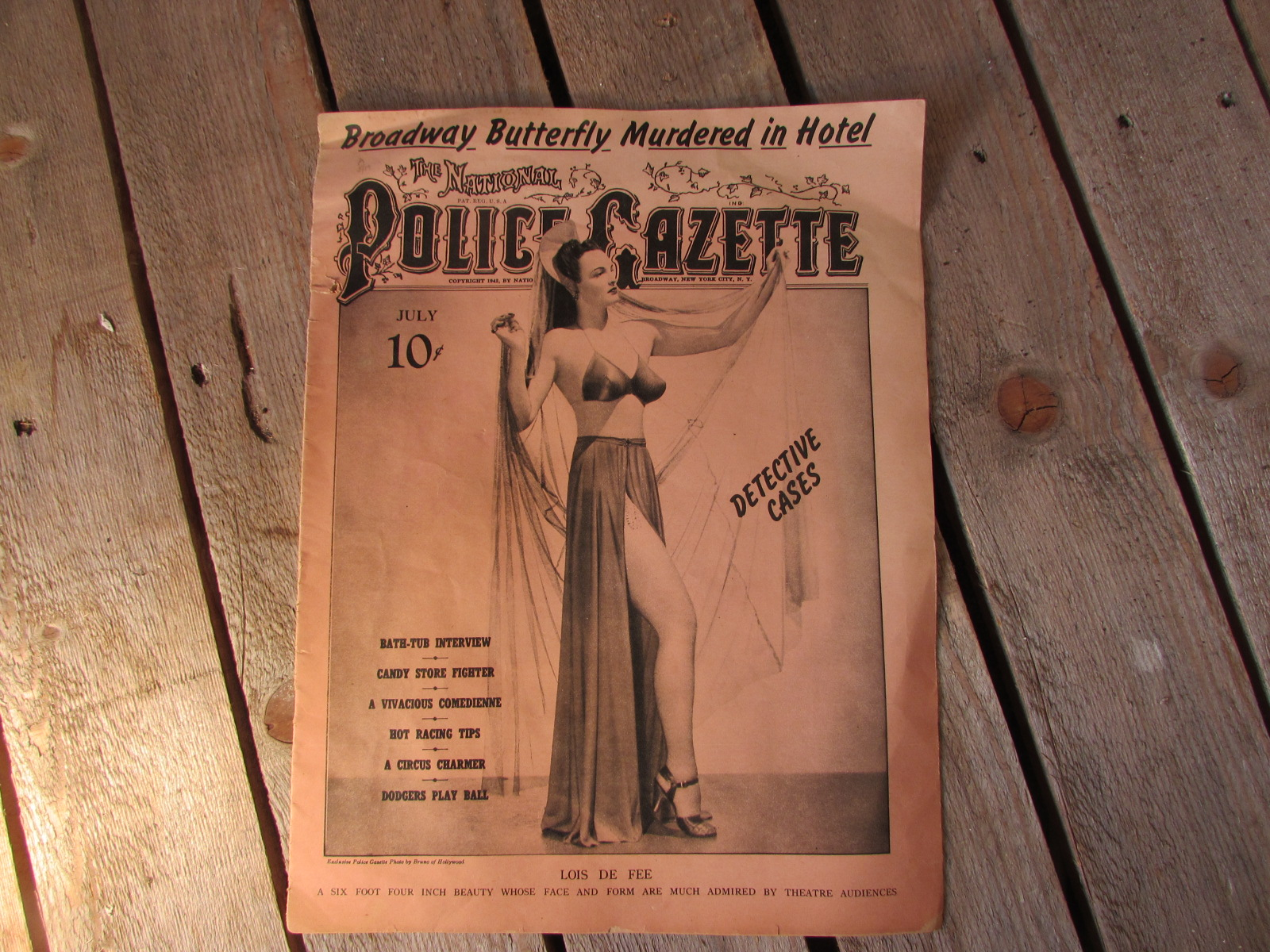 1942 Police Gazette 1