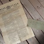 1914 news sheet published for the interned English soldiers during the first world war 1