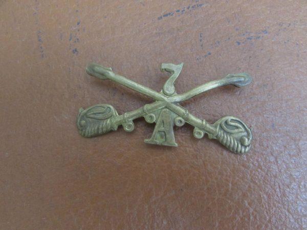 7th Cavalry 1950s badge