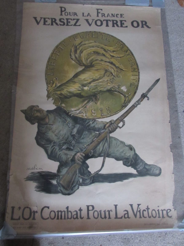 1915 French liberty poster