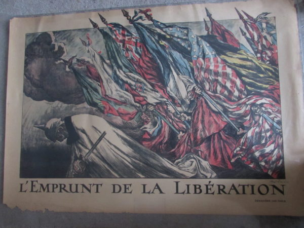 French liberty poster 1915