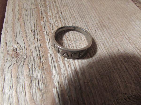 WW1 peace ring