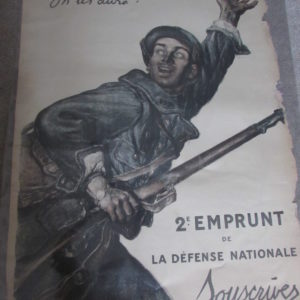 French 1915 poster
