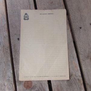 ANZAC letter