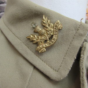 WW1 SCOTTISH TUNIC