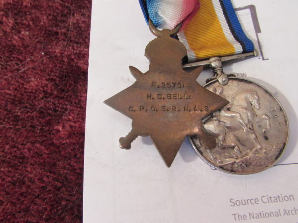 WW1 medals