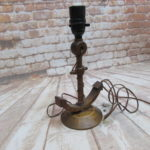 Oak Anchor Lamp