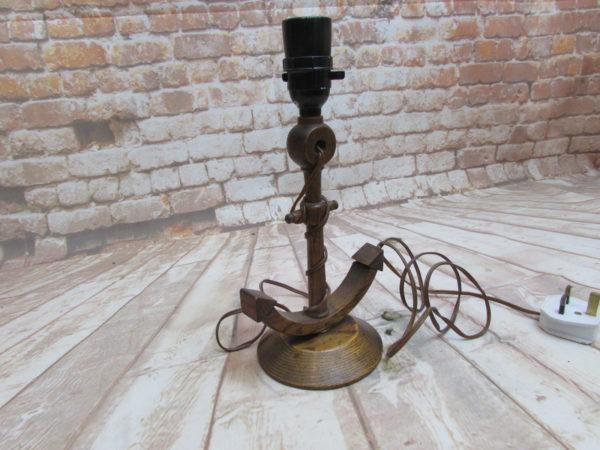 Oak Anchor Lamp