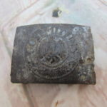 WW11 Relic German Army Buckle (Stalingrad)