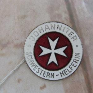 Johanniter enamel badge