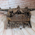 RELIC GERMAN BOOKEEPING TYPEWRITER