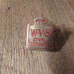 W.V.S. Civil Defence Badge