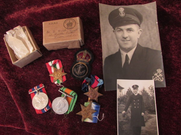 Set of Medals Petty Officer R.N