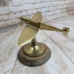 Spitfire model in brass