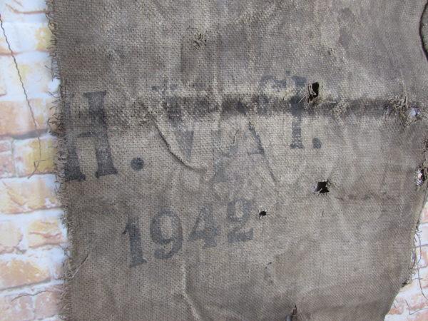 Relic German Grain Sack 1942