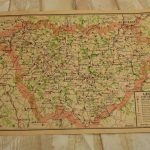 WW2 Luftwaffe stamped French map